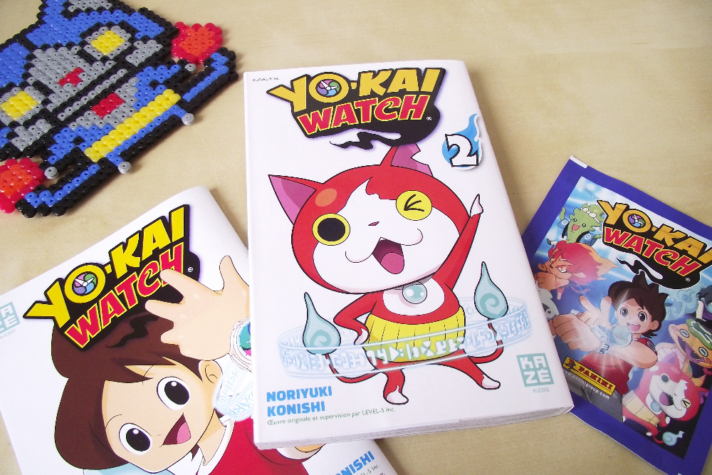 Yo-Kai Watch - Manga revue - Olamelama blog