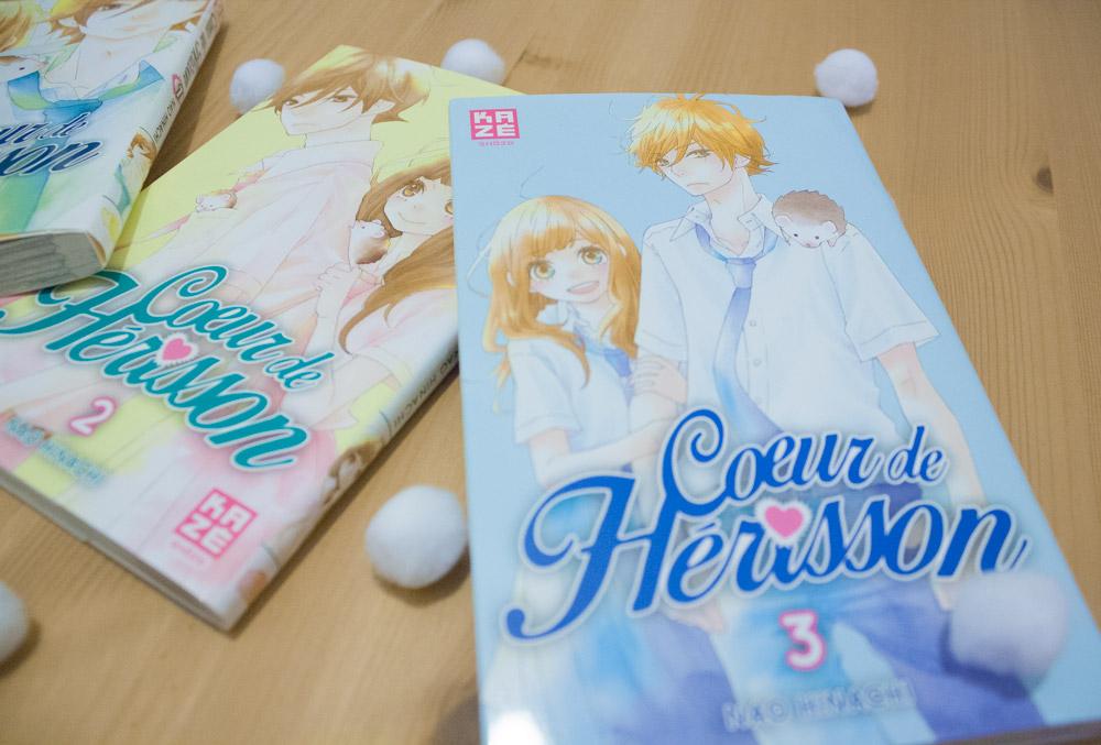 Manga Kazé Coeur de Hérisson Tome 1 2 3