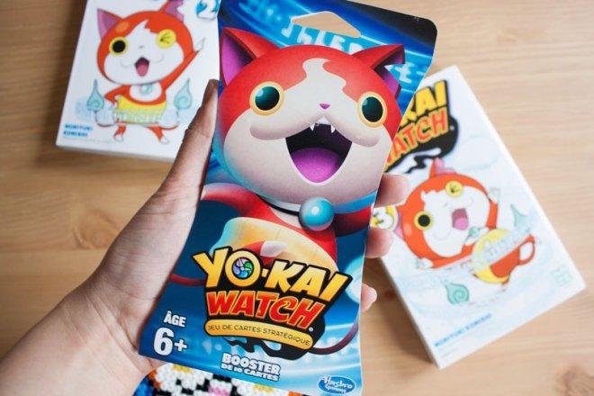 Yo-Kai Watch 3 - Booster Pack Cartes - Manga édité par Kazé - Olamelama - Blog geek et lifestyle