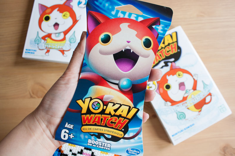 Yo-Kai Watch 3 - Booster Pack Cartes - Manga édité par Kazé - Olamelama - Blog geek et lifestyle