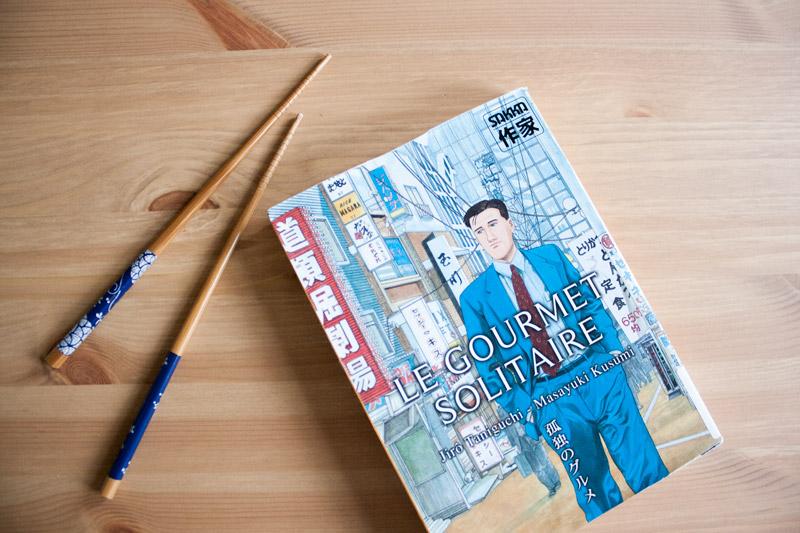 Manga le Gourmet Solitaire - Olamelama