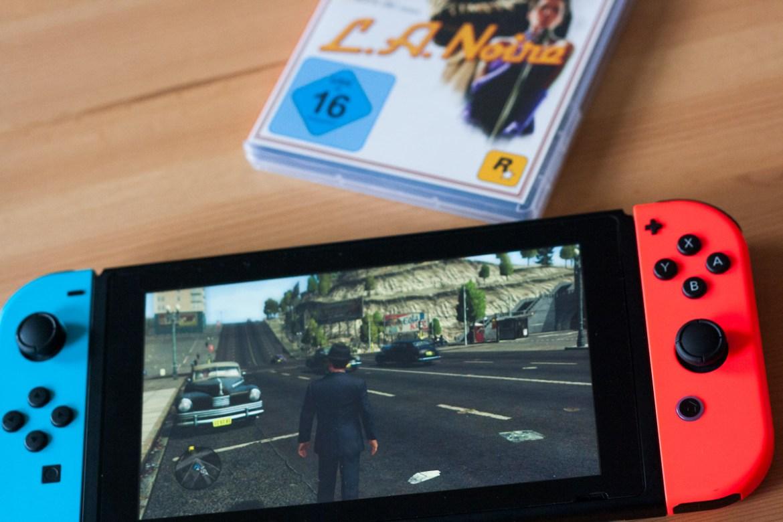 Lama Diaries LA Noire sur Nintendo Switch