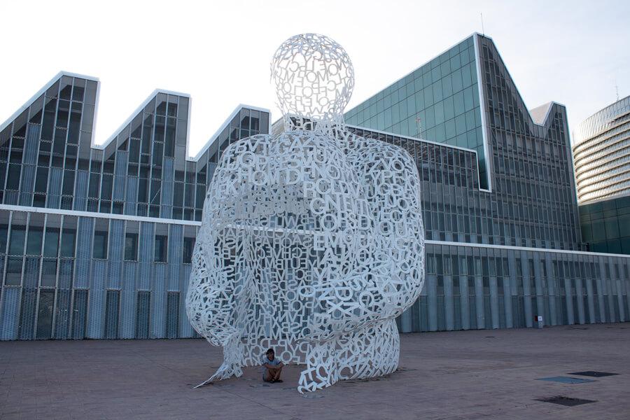 Roadtrip 2018 - Nord de l'Espagne - Saragosse - Expo Universelle 2008 - Sculpture
