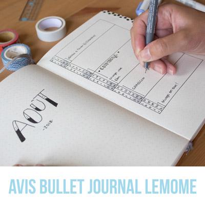 Meilleurs articles 2019 - Avis sur le bullet journal lemome