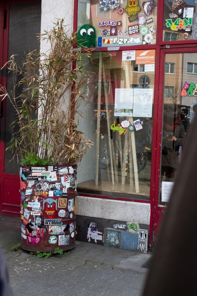 Street-art à Düsseldorf - Visite de Brause
