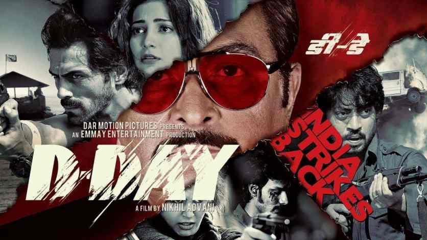 D-Day (2013) Hindi Bluray Google Drive Download