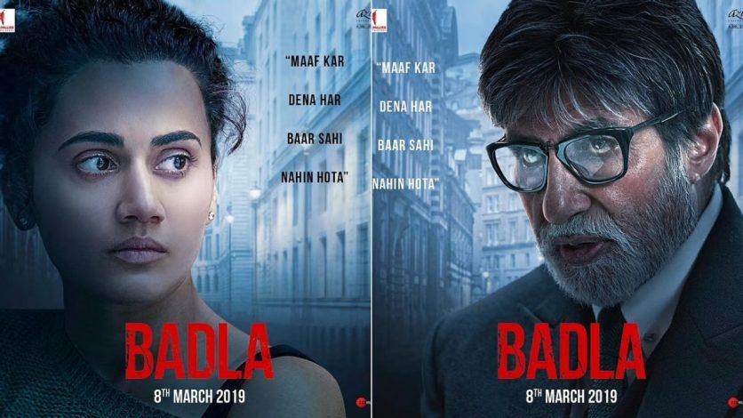 Badla (2019) WEBRip Google Drive Download