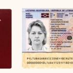 Lietuviai asmens tapatybes kortelę galės gauti ir užienyje