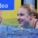 Rūta Meilutytė iškovojo pasaulio čempionato aukso medalį