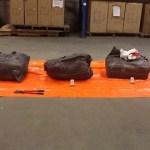 Jūriniame konteineryje iš Ekvadoro rasta 150 kilogramų kokaino
