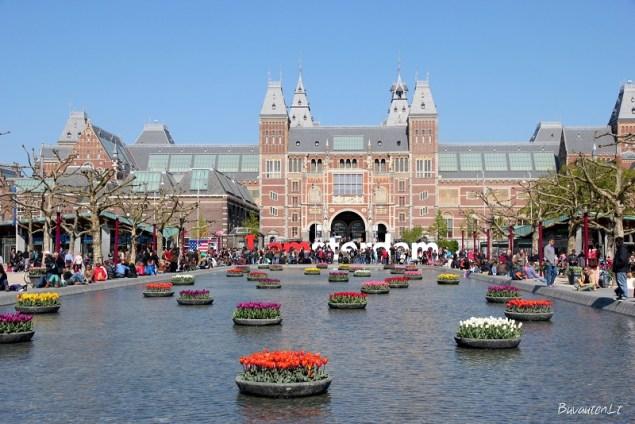 Rijksmuseum – žymiausias Amsterdamo muziejus