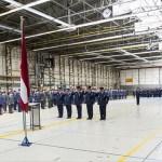 Baltijos oro policijos medaliai Nyderlandų lakūnams