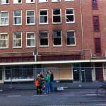 Kilus gaisrui Hagos centre žuvo žmogus