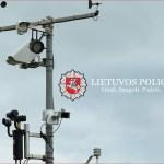 Grįždami automobiliu į Lietuvą, neviršykite greičio