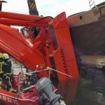 Tragedija Nyderlanduose: du kranai užvirto ant namų