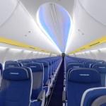 """""""Ryanair"""" pristato naują orlaivio salono dizainą"""