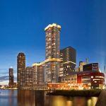 Naujajame Roterdamo dangoraižyje – terasinis baras su panoraminiu vaizdu