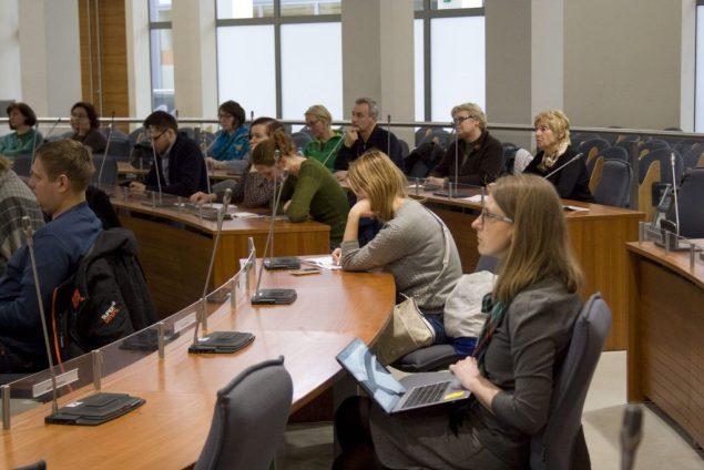 Mokymai gidams (Vilniaus turizmo informacijos centras)