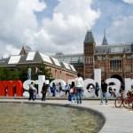 Amsterdamas eksperimentais stengiasi išvilioti turistus iš miesto centro