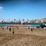 Lietuvos paplūdimio rinktinė kovas atrankoje baigė pralaimėjimu Olandijai