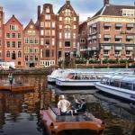 Amsterdamas išbandys savaeigius laivelius