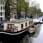 Amsterdamas: kiek kainuoja gyvenimas ant vandens?