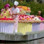 Plaukiojančių gėlių paradas ir vėl grįžta į Pietų Olandiją