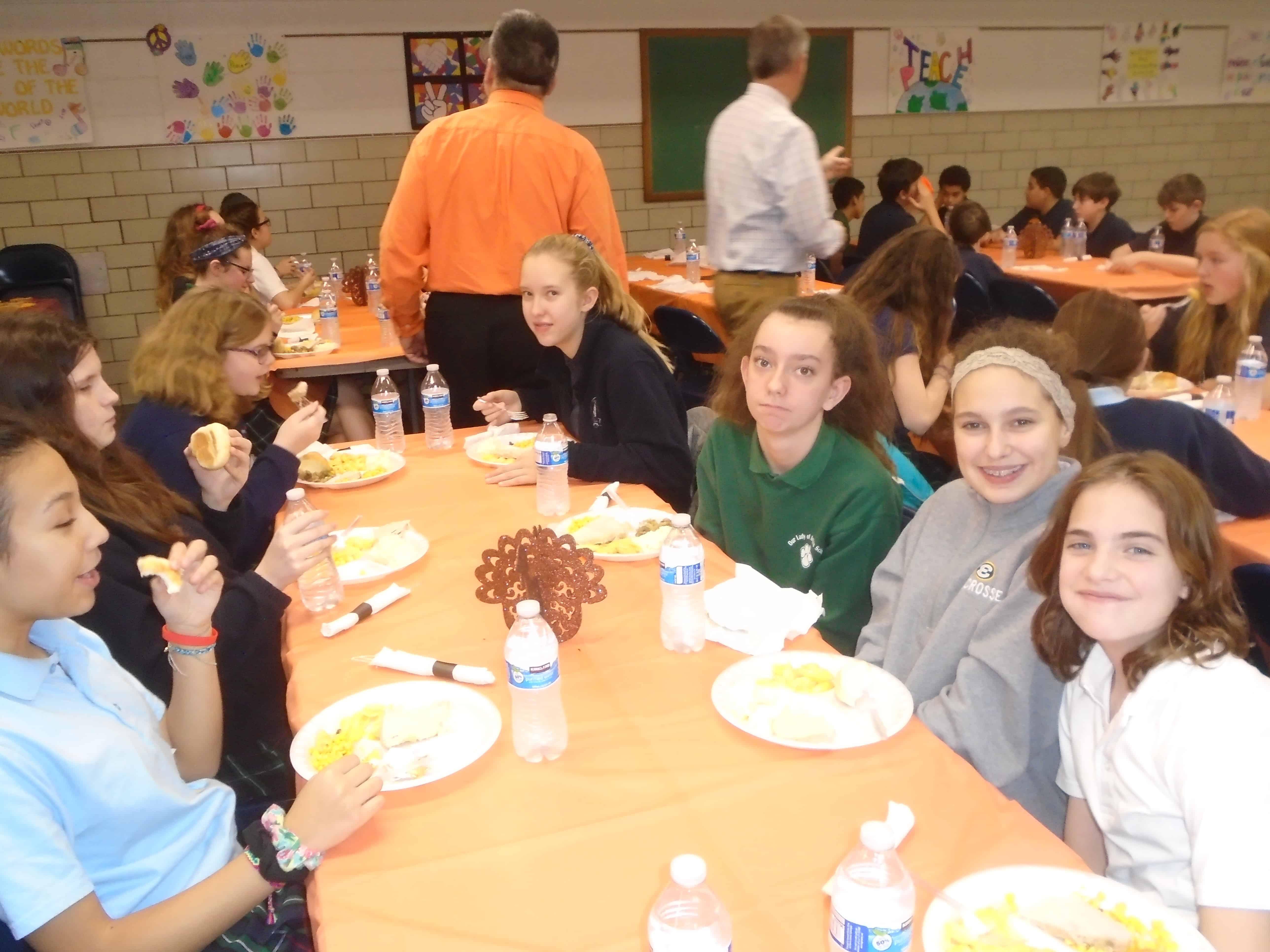 7th Grade Thanksgiving Dinner
