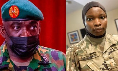 Wear Hijab If it's Going To Save You from bullet 'CAN' to Military Ladies