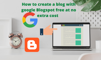 Create a Blog With Google Blogspot