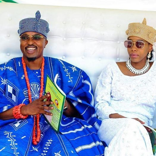Oluwo Estranged Wife With Ancestral Crown Oluwo of Iwo
