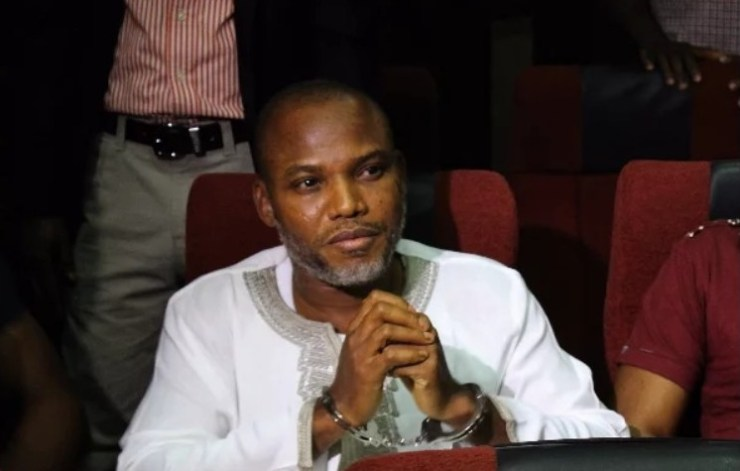 Nnamdi Kanu will shortly be released