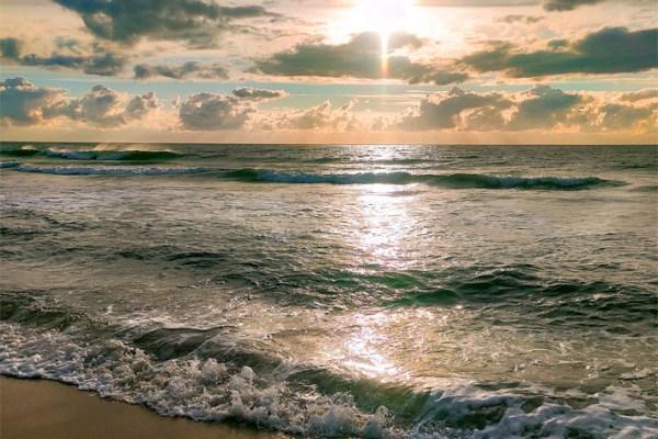 Von den Dünen an den Strand