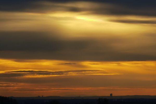 Exklusiv zum Sonnenuntergang