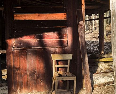 Lost Place: Die verlassene Waldsiedlung