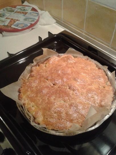 Almás pite, szeretem tortaformában