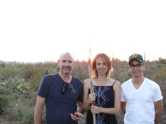 Justin, Michelle and Primo