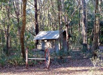 My cousin Gayle's playhouse as a child.