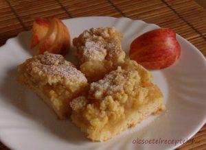 Almás pite, omlós tészta, linzer