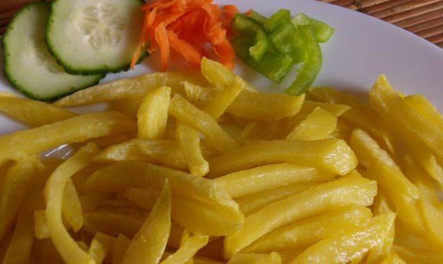 Sült krumpli, sült burgonya, hasábburgonya
