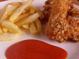 KFC csirke barbecue szósszal