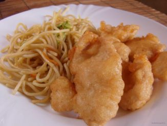 Illatos-omlós csirke