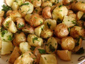 petrezselymes újburgonya, petrezselymes újkrumpli