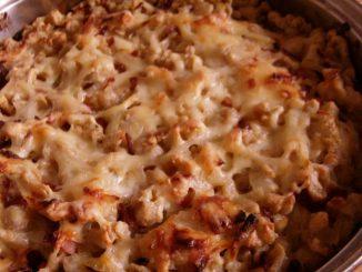 baconos hagymás sajtos nokedli
