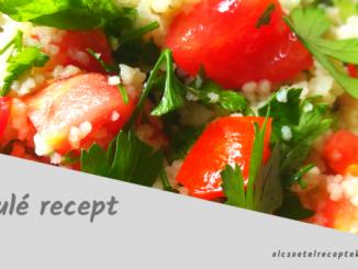tabulé recept