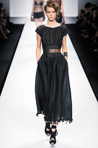 Fendi Spring 2010 dress