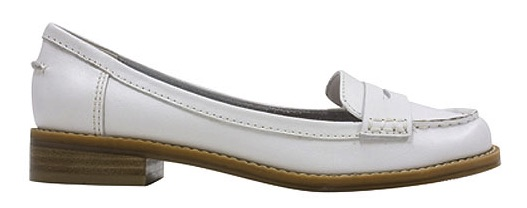 Bass White Brookfield Loafer