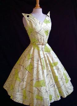 Atomic Print Dress