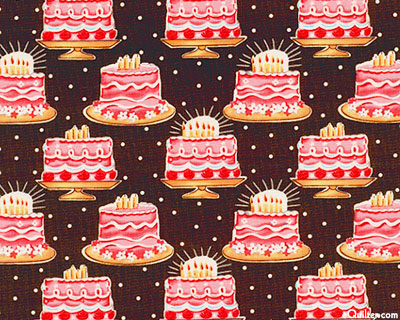 equilter birthday fabric