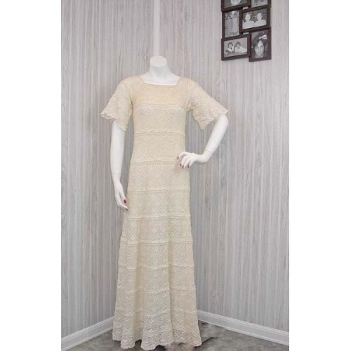 Leighton Crochet Dress